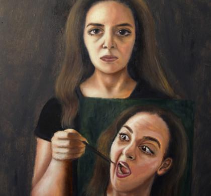 Self Portrait - Act Normal